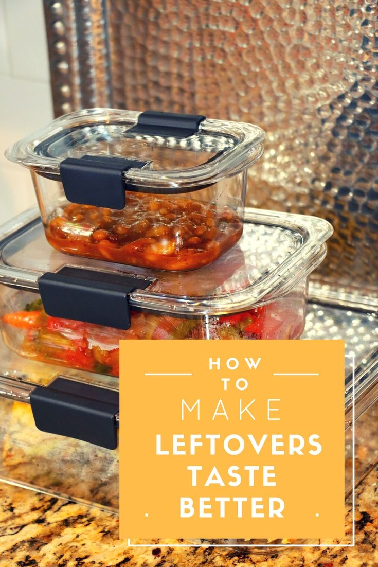 Come see how the right food storage containers, like Rubbermaid BRILLIANCE, can help make your leftovers taste better! #Ad #StoredBrilliantly