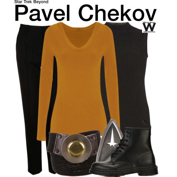 Inspired by Anton Yelchin as Pavel Chekov in the Star Trek film franchise