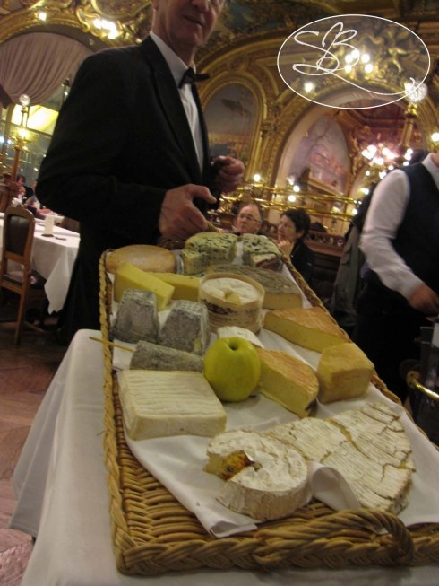 The Cheese Cart at Le Train Bleu in Paris -- Next time I'm in Paris, I want to go here! I've heard wonderful things!
