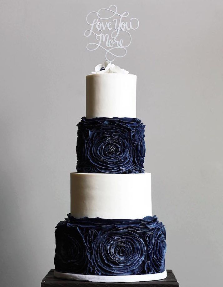 Beautiful wedding cake ideas; via Shannon Bond Cake Design