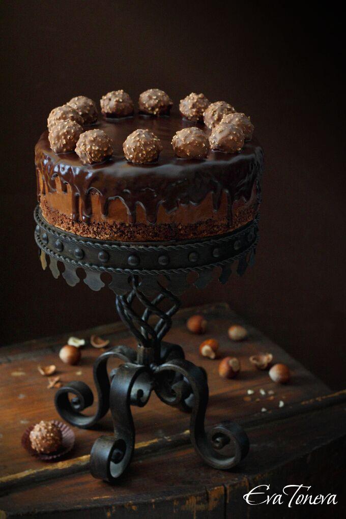 Ferero Rosche Cake/Торта Фереро Роше
