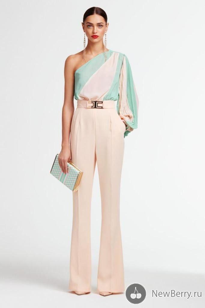 Женская одежда Elisabetta Franchi весна-лето 2017