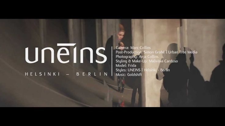 UNEINS Helsinki -- Berlin // A/W 13/14 (Photoshoot Making-of)