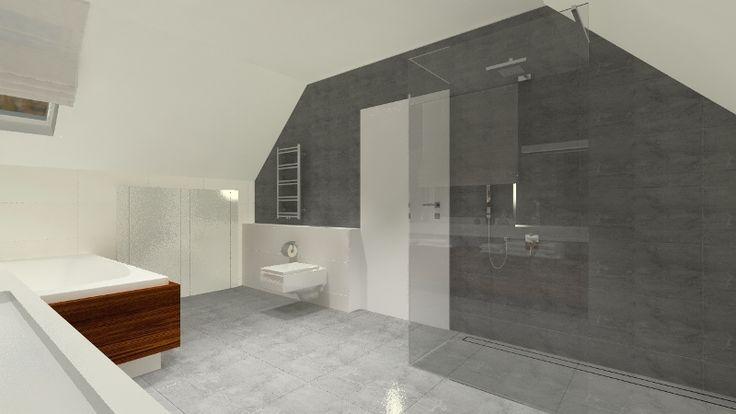 ...i prysznicem typu walk-in