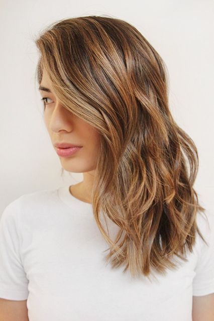 The Raddest Fall Hair-Color Trends From L.A.'s Top Stylists #refinery29  http://www.refinery29.com/la-fall-hair-color-inspiration#slide-5  Stylist: KC CarhartSalon: Ramirez | Tran What to ask for: A warm, brunette color with subtle highlightsBronde is having a major moment in L.A. — but there are many variations...