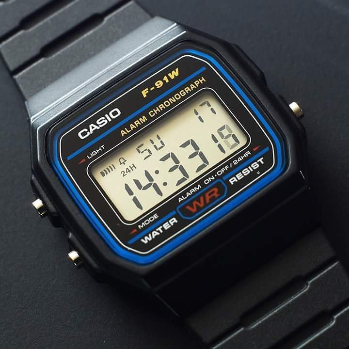 Inspirational Tuesday - Casio F91W (1991)  It is not common for a product to be on the market for 26 years without any design changes or updates but this is the case with Casio F-91W a digital watch that has almost reached an iconic status.  Casio revealed the watch in 1991 with a minimal design featuring an LCD screen that showed time and date and included stopwatch timer alarm and illumination functions. The digital watch is water resistant has  a very simple interface with 3 physical…