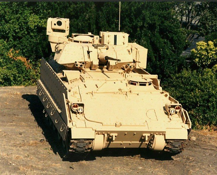 U.S. Army Bradley Fighting Vehicle | Bradley_M2A3_Infantry_Armored_Fighting_Vehicle_US_Army_01.jpg