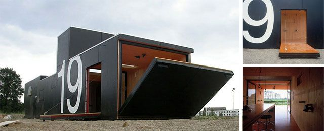 For visiting artists in the Netherlands, small-prefab-house-19