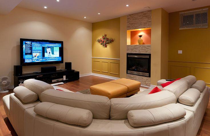 Best 25 Basement Family Rooms Ideas On Pinterest