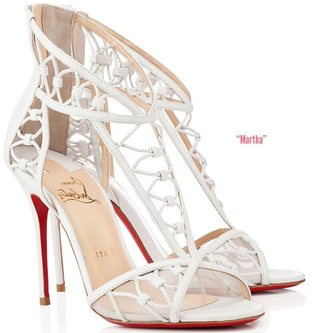 Martha, by Christian Louboutin, Spring 2014 Bridal Collection. High Heels  SandalsPump ShoesSexy ...