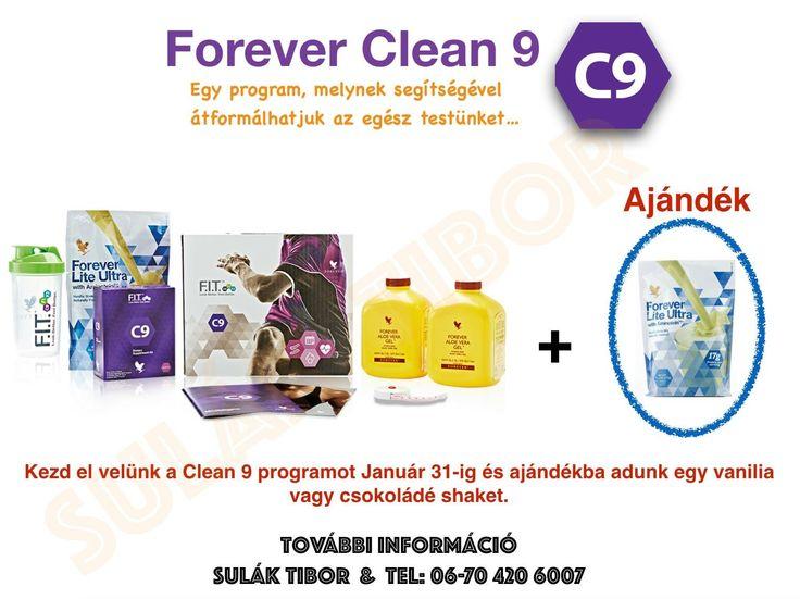 Clean 9 az első lépés melynek segítségével megalapozzuk az új életstílusod, ami hozzásegít az ideális súlyod eléréséhez.  Egy program, melynek segítségével átformálhatjuk az egész testünket… Lépj kapcsolatba bővebb információért facebook.com/slktibor oldalon. Írj üzenetet vagy telefon: fbobudapest@gmail.com