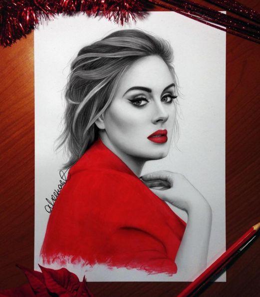 Mesmerizing Celebrities Portrait Drawings by Aleex Manole —