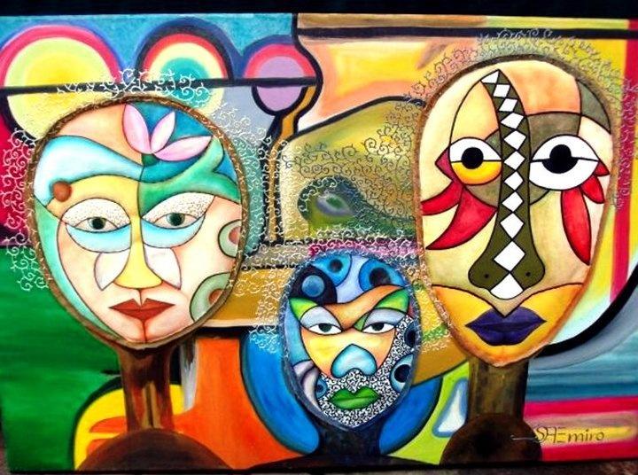 Emiro Ojeda Venezuelan Contemporary Painter Sculptor