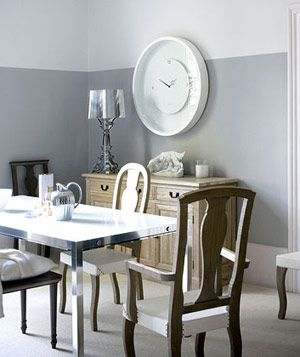 Dining Room Two Tone Paint Ideas 125 best gray walls images on pinterest | wall colors, home and