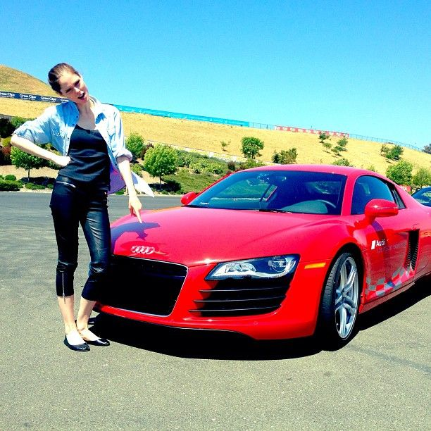 Instagram Coco Rocha and her Audi R8 | Future set of wheels | Pinterest | Coco rocha, Audi r8 and Ps
