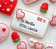 Williams-Sonama valentines day cookies