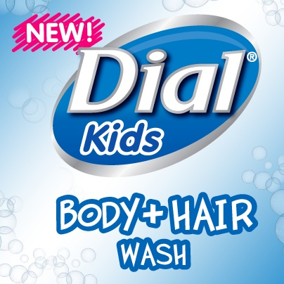 """""""Introducing NEW Dial® Kids Body & Hair Wash! """" I entered to win. ENTER today for your chance to win a bottle of NEW Dial® Kids Body & Hair Wash, or the grand prize of $1,000."""