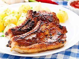 Grandma Pam's Kitchen: Teriyaki Pork Chops