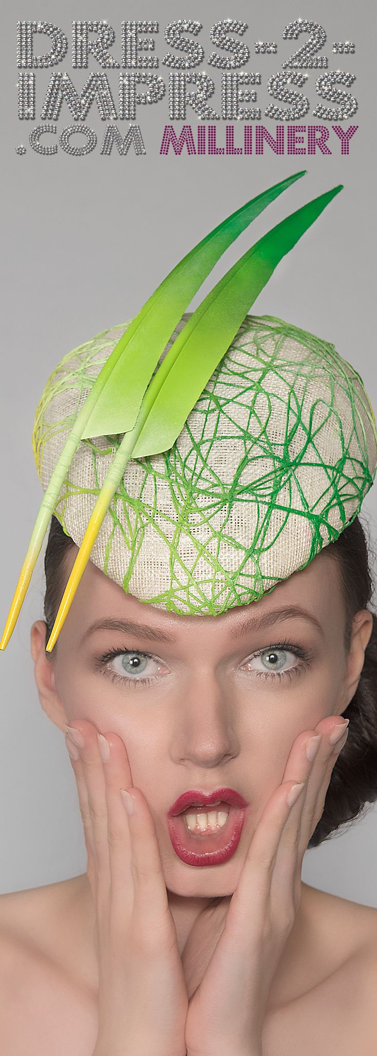 Great Fun Hatinator, Fascinator Hat for the Races. Spring Racing Fashion. Fashion on the Field. Hat for Royal Ascot or other Races, Friends Weddings, Salon Prive or other Formal events. Can be custom made in any colours. Handmade in the UK. #ethicalfashion #shopsmall #etsy #etsyseller #cybermonday #handmade #madeintheuk #fashionista #fashionaddict #millinery #tocado