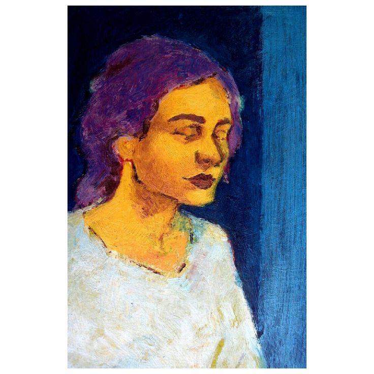 Ezgi  #follow #Artist by @erjansert  #ezgi #portrait #curator #expertise #curators #art #drawing #figurative #oilpaint #painting #artwork