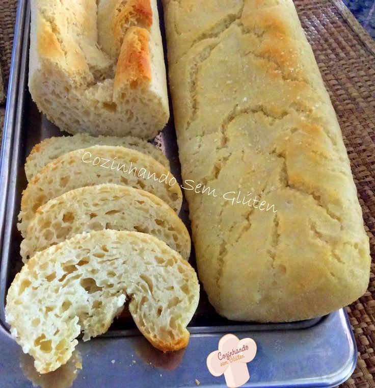 Cozinhando sem Glúten: Pão baguete zero glúten