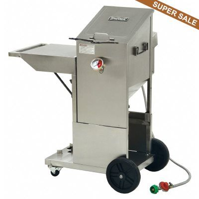 Outdoor Deep Fryer 4 Gallons with Cart