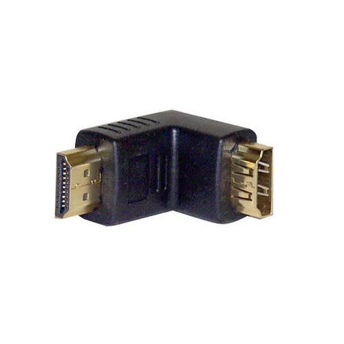 HDMI Male to Female Coupler - 90 Degree
