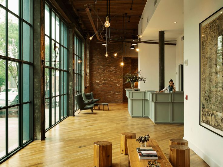 Windows The Wythe Hotel Brooklyn NY Interior Design By Workstead