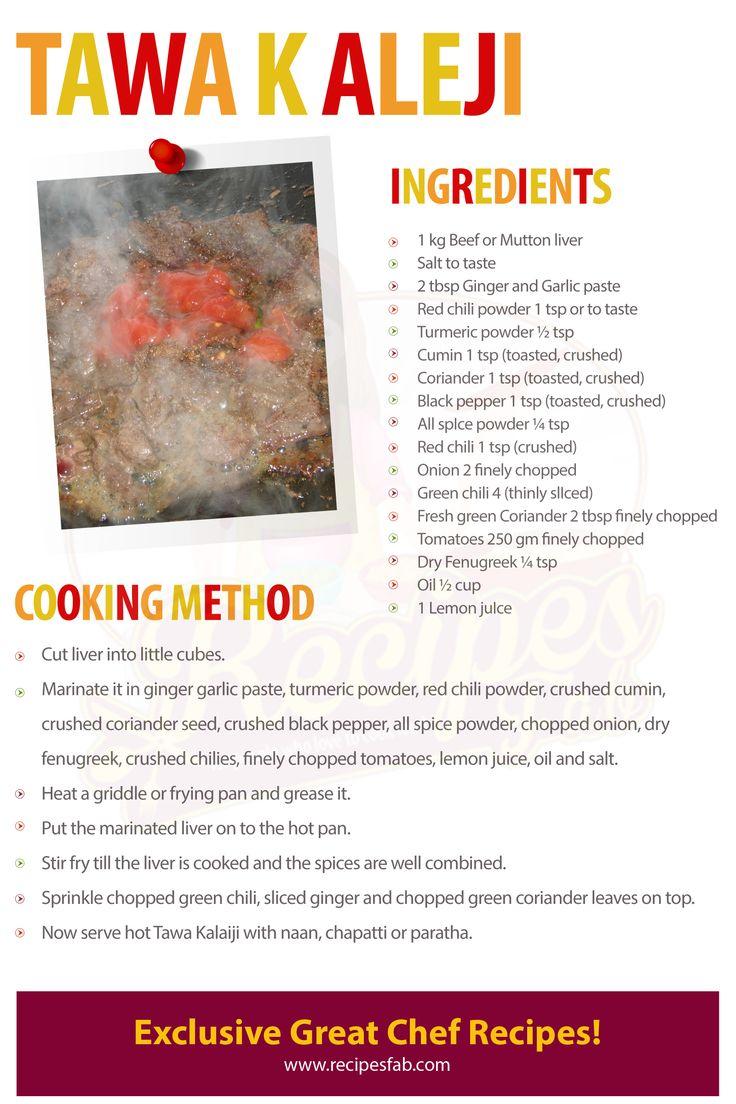 Goat liver with dill leaves indian kitchen cooking recipes -  Tawa Kaleji Eid Recipesrecoverpakistani Recipesdesi Foodbrainindiaanimals