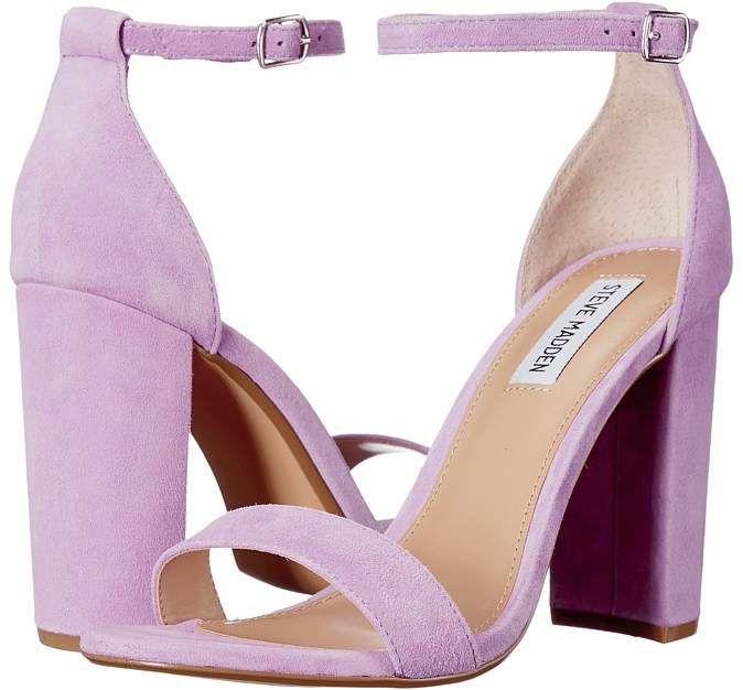 Steve Madden Carrson High Heels | Purple high heels, Lilac