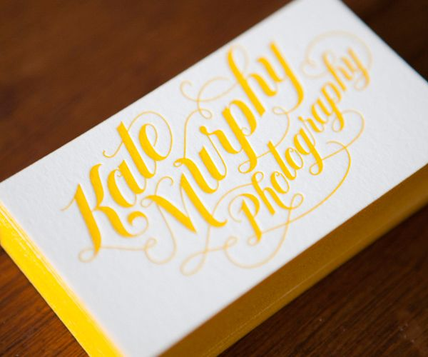 Kate Murphy Photography Business Card