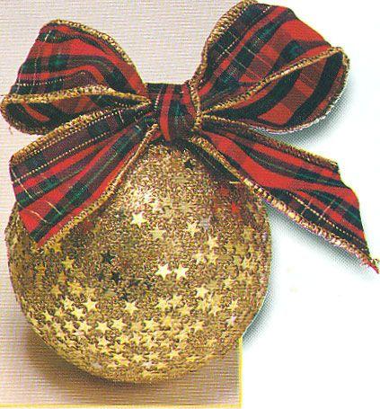 1000 images about bolas navide as decoradas on pinterest - Como decorar una bola de navidad ...