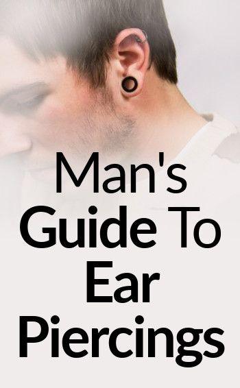 Man's Guide To Ear Piercings