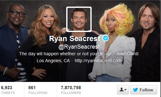 The New Twitter Header and what it says about visual content.     Ryan Seacrest Twitter Header