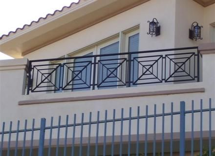 Modern Balcony Grill Designs For Iron, Wrought Iron Balconies ...
