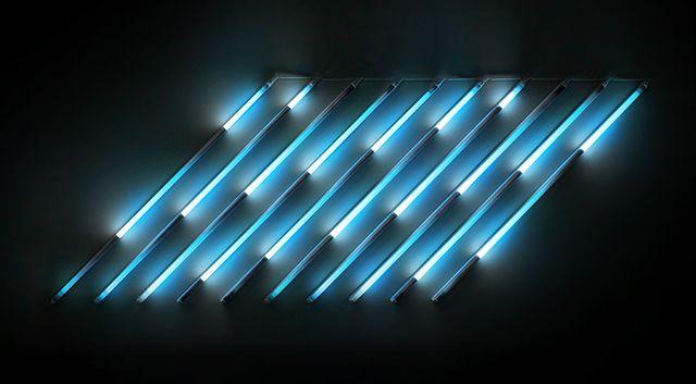 James Clar / Rain (Reduction) #art #installation #light