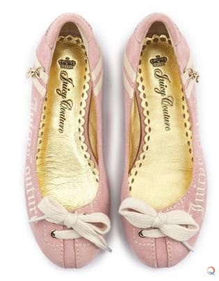 Juicy Couture Flats Fashion Pink
