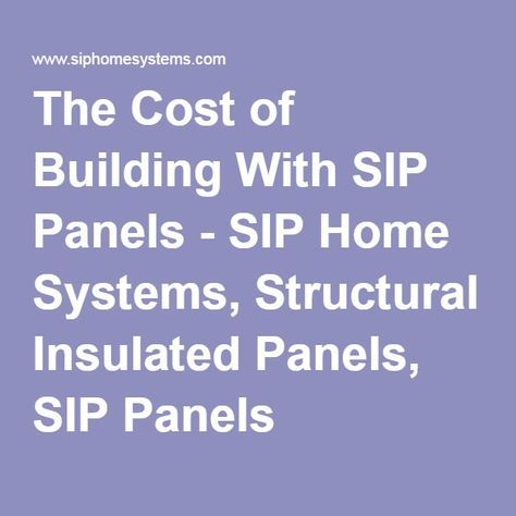 Best 25 insulated panels ideas on pinterest insulation for Murus sips