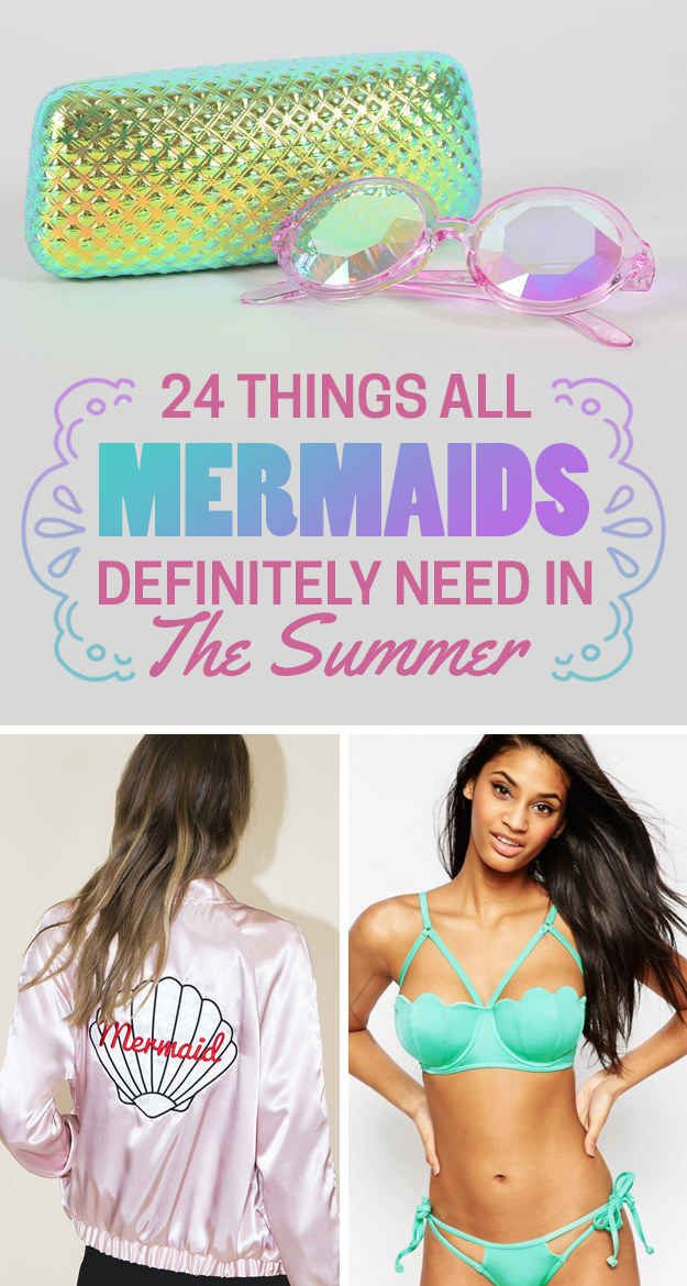 24 Mermaid Things To Have A Fintastic Summer