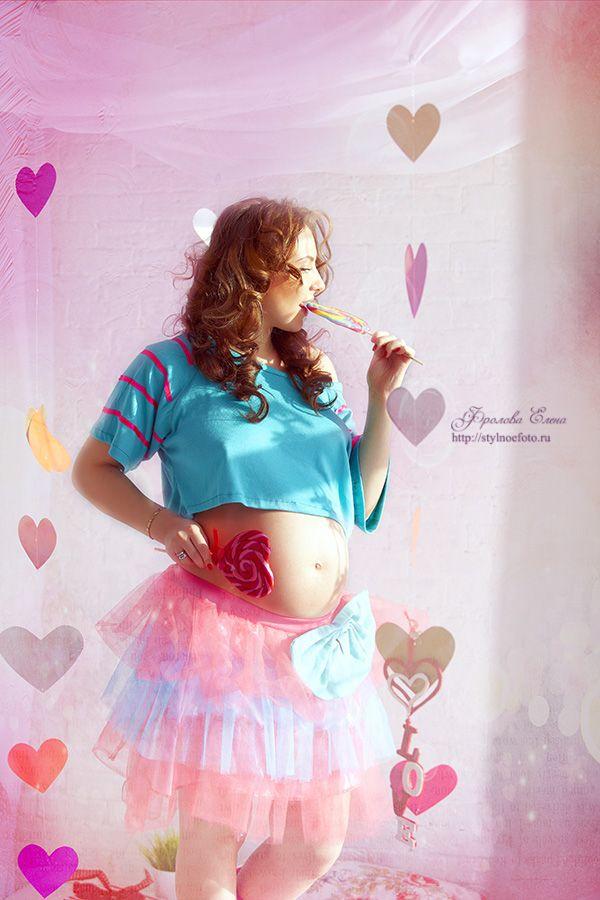Beautiful pregnant. Прекрасная беременная