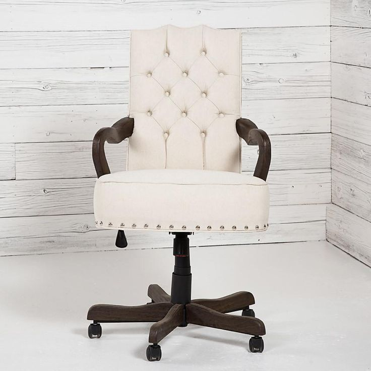 Industrial Office Chair, Tufted