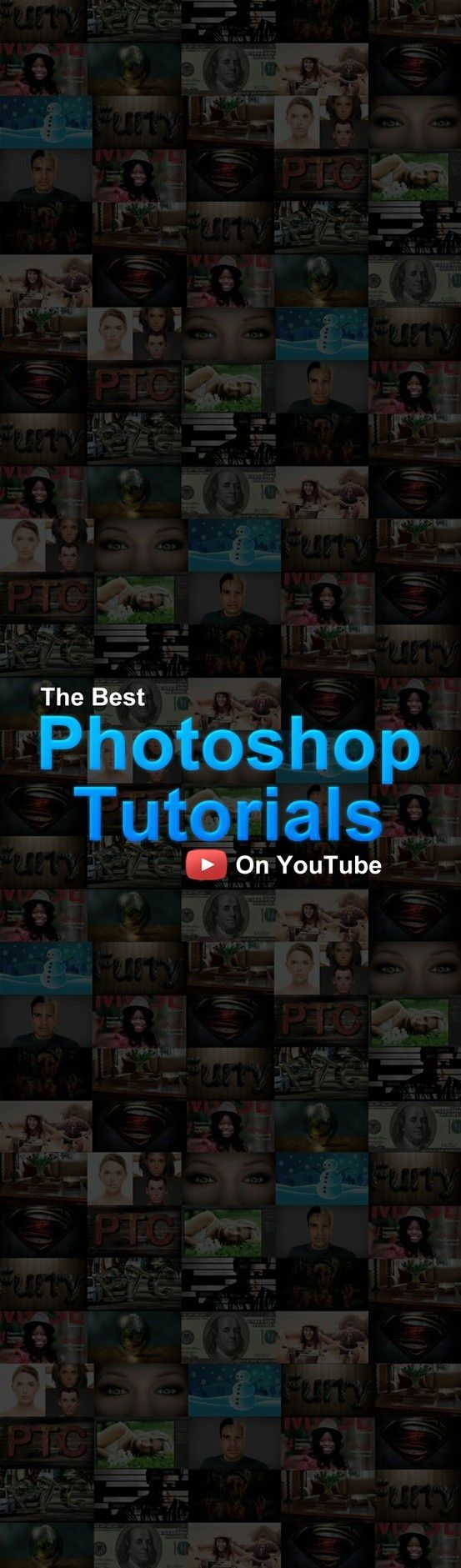 The Best Photoshop Video Tutorials on YouTube! Check It Out!