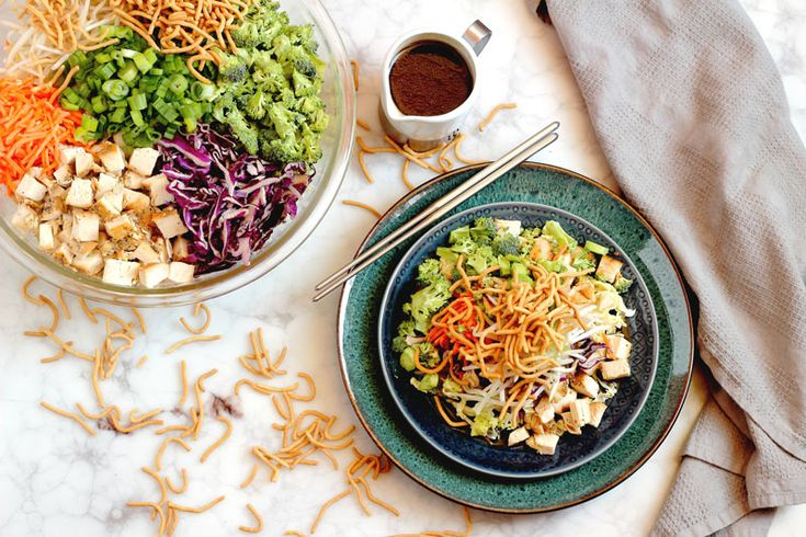 Easy Chinese Chopped Chicken Salad & Want it Wednesday #2 | Oven Struck
