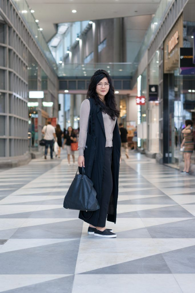 SHENTONISTA: In Her Words. Alexis, Law. Coat from Zalora, Top from Uniqlo, Shoes from Keds, Bag from Clare V., Glasses from Owndays. #shentonista #theuniform #singapore #fashion #streetystyle #style #ootd #sgootd #ootdsg #wiwt #popular #people #male #female #womenswear #menswear #sgstyle #cbd #Zalora #Uniqlo #Keds #ClareV #Owndays