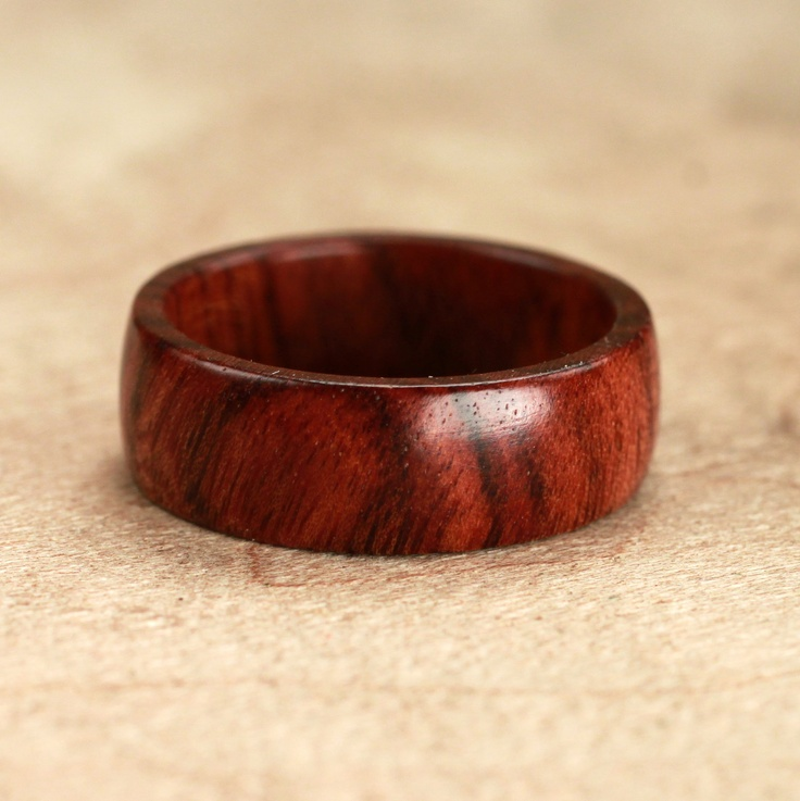 Mopani Wood Ring No. 24 Handmade things Pinterest
