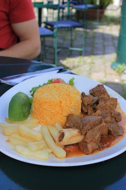 Seco de chivo / Ecuadorian goat stew