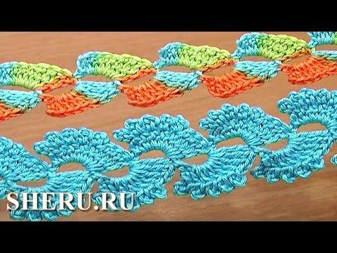 Crochet Braid Ribbon  How To Урок 31 Как связать шнур крючком - YouTube