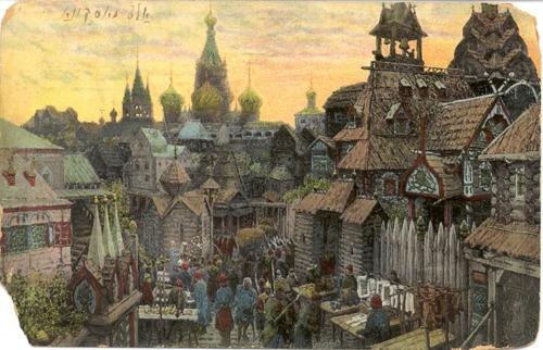 muirgilsdream: Old Moscow.   City / Town Scenes in Art #3 ...