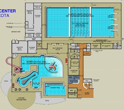Home Plans With Indoor Pools: 17 Best Images About Home--Floorplans: Commercial