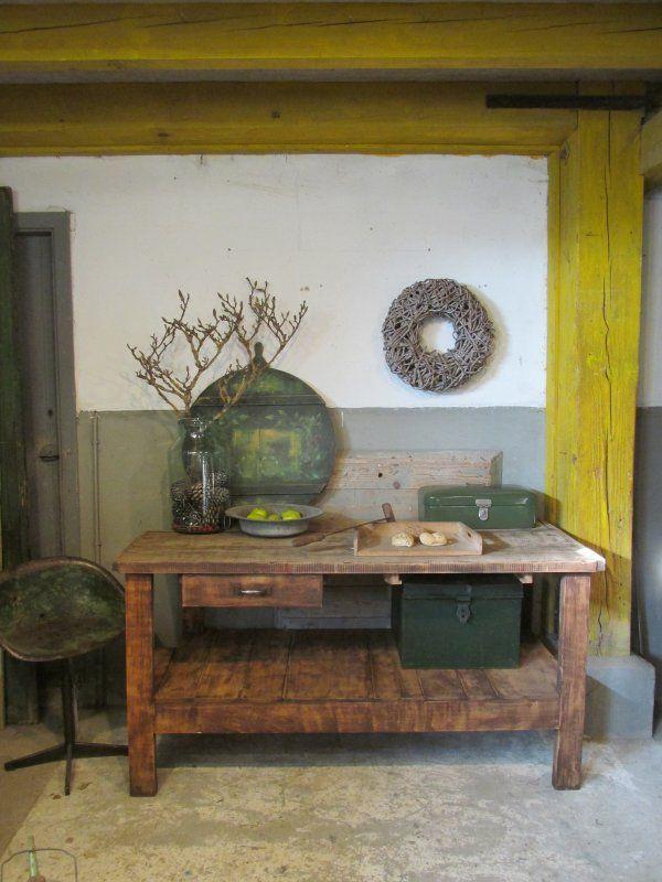 20 beste idee n over werktafel op pinterest werktafel inrichting werktafel organisatie en - Kamer buffet heeft houten eet ...